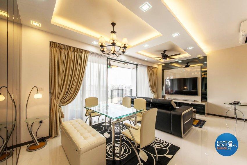 Modern Design - Dining Room - Condominium - Design by Einstein Studio Pte Ltd
