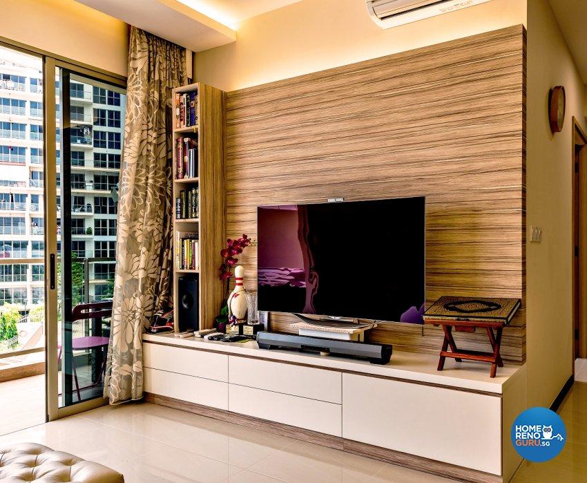 Modern, Scandinavian Design - Living Room - Condominium - Design by Einstein Studio Pte Ltd
