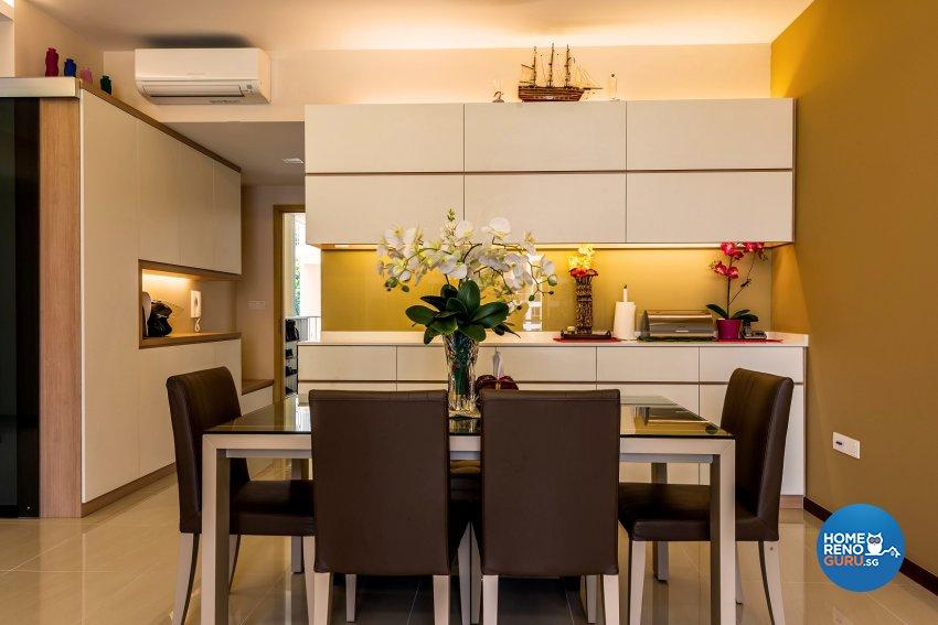 Modern, Scandinavian Design - Dining Room - Condominium - Design by Einstein Studio Pte Ltd