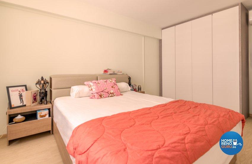 Modern, Others, Tropical Design - Bedroom - HDB 3 Room - Design by Einstein Studio Pte Ltd