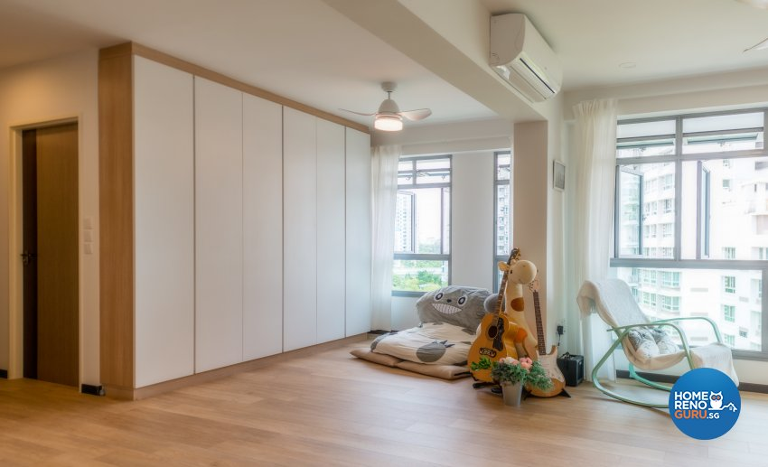 Minimalist, Scandinavian Design - Study Room - HDB 4 Room - Design by Einstein Studio Pte Ltd