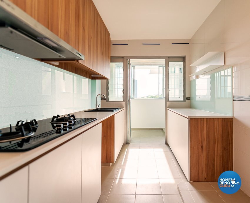 Modern, Scandinavian Design - Kitchen - HDB 4 Room - Design by Einstein Studio Pte Ltd