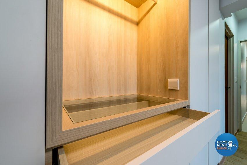 Scandinavian Design - Bedroom - HDB 5 Room - Design by Einstein Studio Pte Ltd