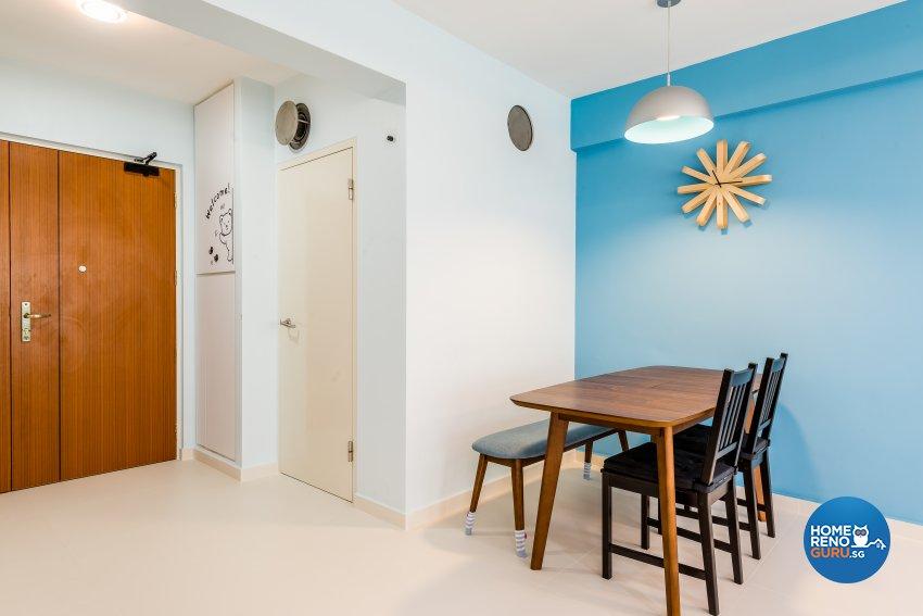 Scandinavian Design - Dining Room - HDB 5 Room - Design by Einstein Studio Pte Ltd