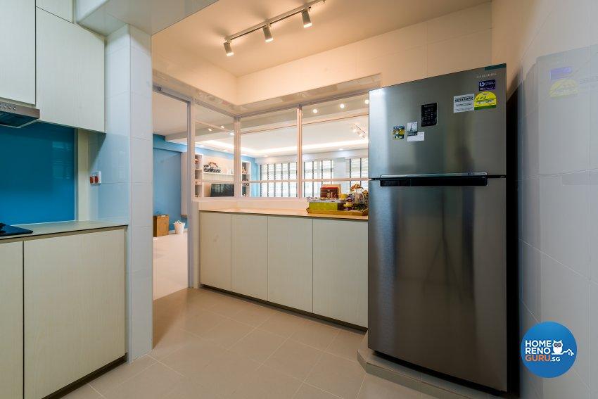 Scandinavian Design - Kitchen - HDB 5 Room - Design by Einstein Studio Pte Ltd