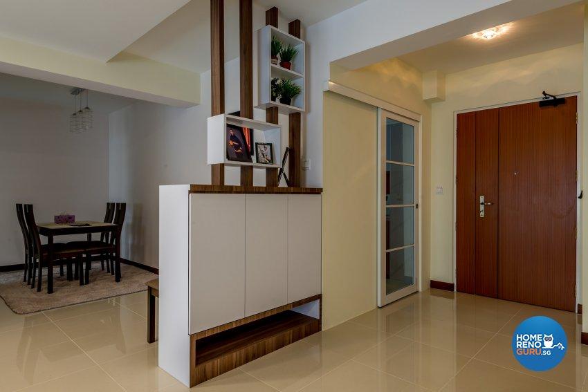 Resort Design - Living Room - HDB 5 Room - Design by Einstein Studio Pte Ltd