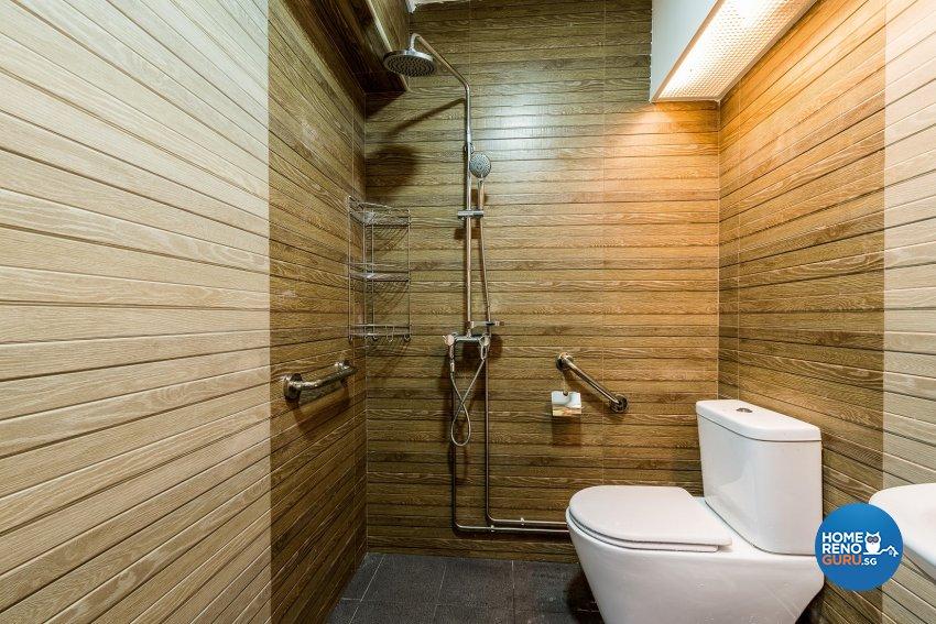 Modern Design - Bathroom - HDB Executive Apartment - Design by Einstein Studio Pte Ltd