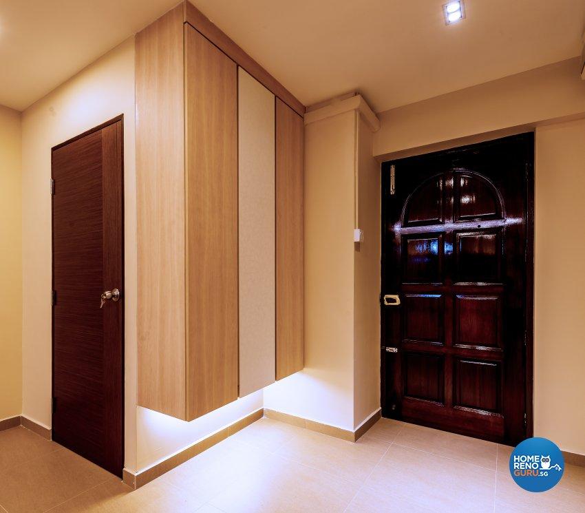 Modern Design - Living Room - HDB Executive Apartment - Design by Einstein Studio Pte Ltd