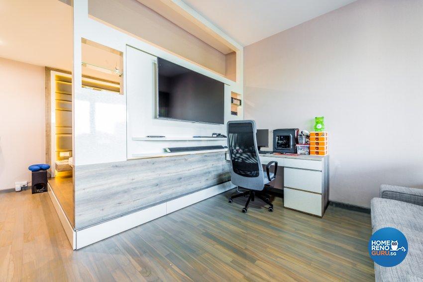 Modern Design - Bedroom - Condominium - Design by Einstein Studio Pte Ltd