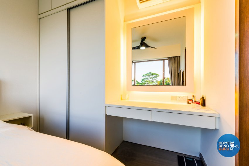 Modern Design - Bedroom - Condominium - Design by Einstein Studio Pte Ltd
