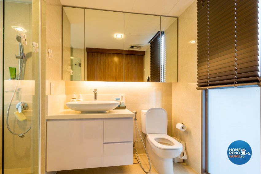 Modern Design - Bathroom - Condominium - Design by Einstein Studio Pte Ltd
