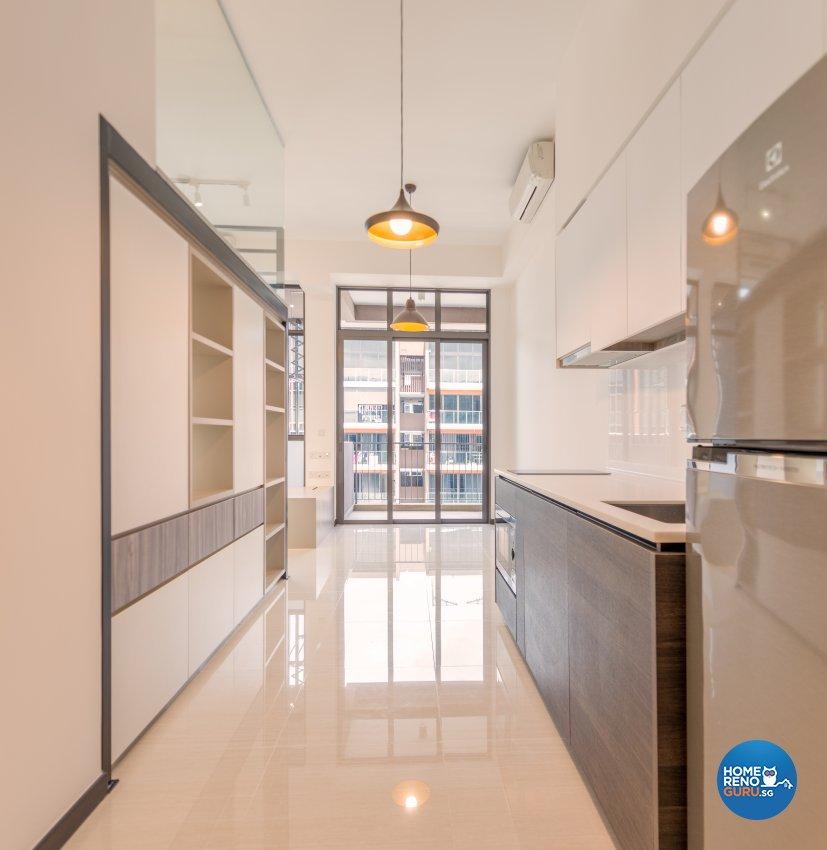 Modern Design - Kitchen - Condominium - Design by Einstein Studio Pte Ltd