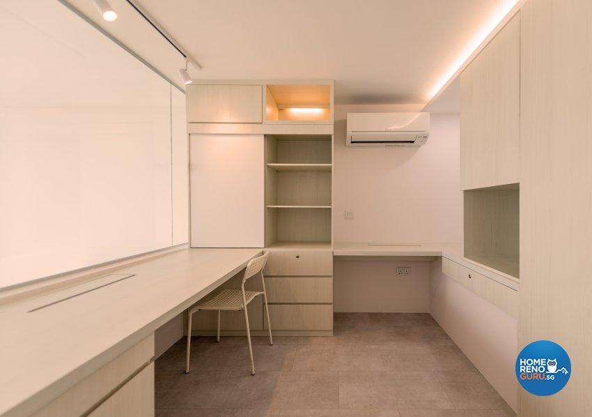 Minimalist Design - Study Room - Condominium - Design by Einstein Studio Pte Ltd