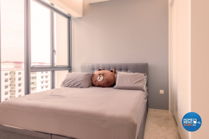 Minimalist Design - Bedroom - Condominium - Design by Einstein Studio Pte Ltd