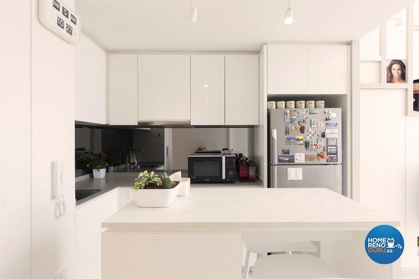 Minimalist Design - Kitchen - Condominium - Design by Einstein Studio Pte Ltd