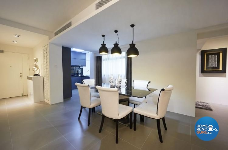 Minimalist, Modern Design - Dining Room - Condominium - Design by Euphoric Designs