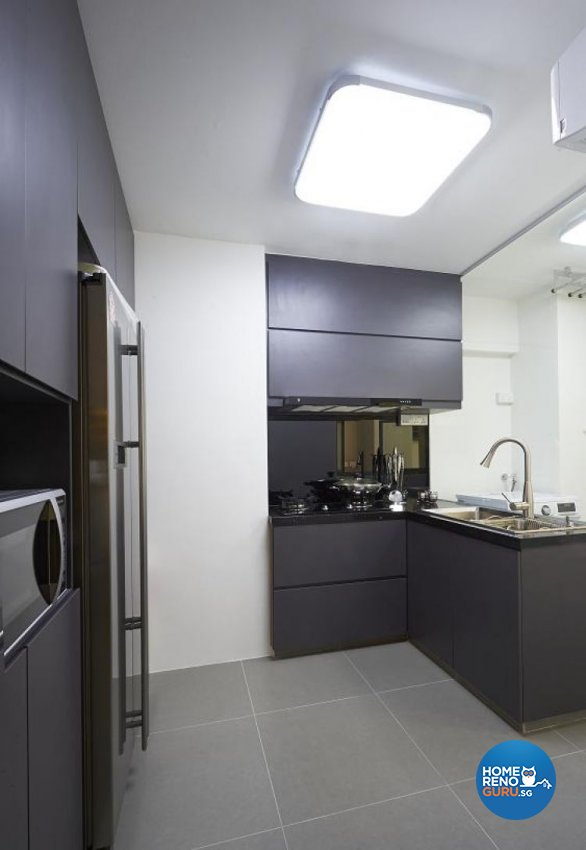 Minimalist, Modern Design - Kitchen - Condominium - Design by Euphoric Designs