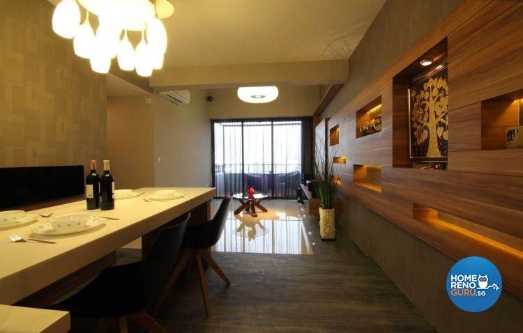 Country, Industrial, Minimalist Design - Dining Room - Condominium - Design by Euphoric Designs