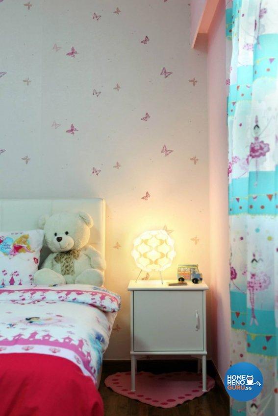 Contemporary, Minimalist Design - Bedroom - Landed House - Design by Euphoric Designs