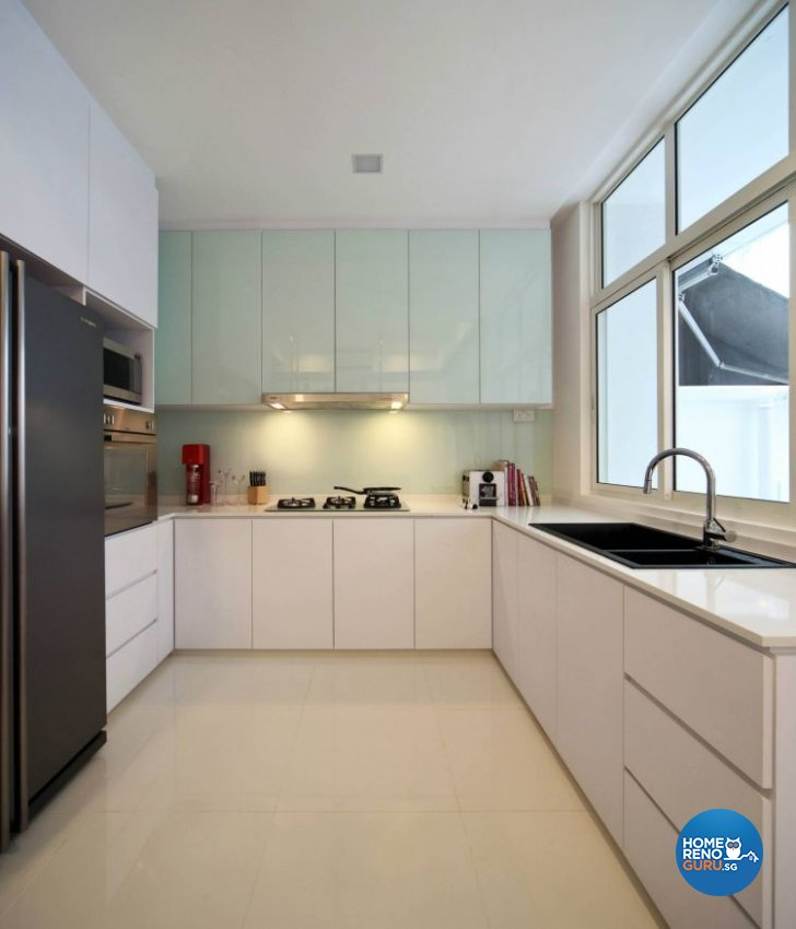 Contemporary, Minimalist Design - Kitchen - Landed House - Design by Euphoric Designs