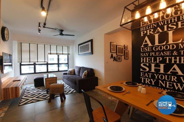 Eclectic, Scandinavian Design - Dining Room - HDB 4 Room - Design by Euphoric Designs