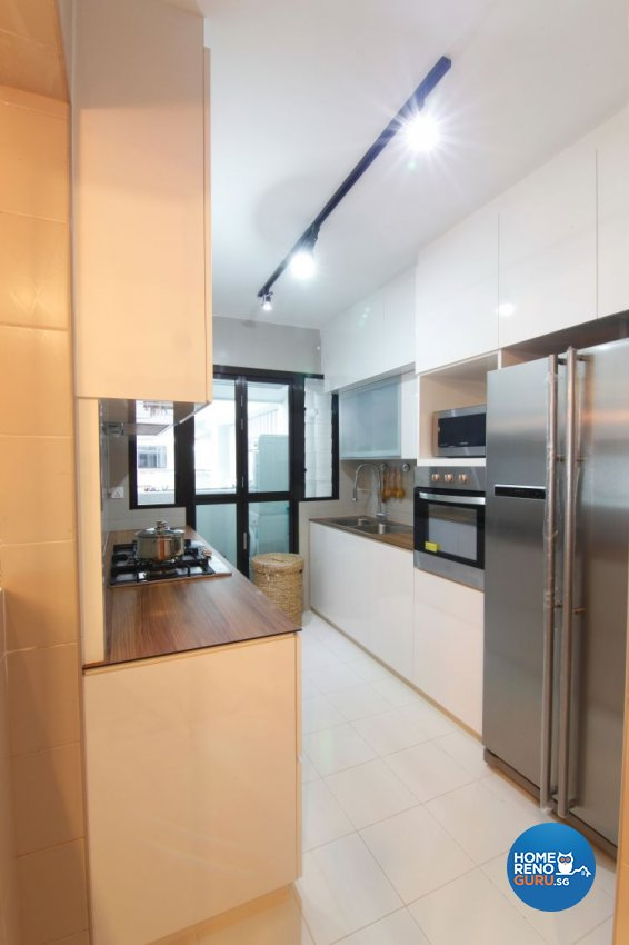 Eclectic, Scandinavian Design - Kitchen - HDB 4 Room - Design by Euphoric Designs