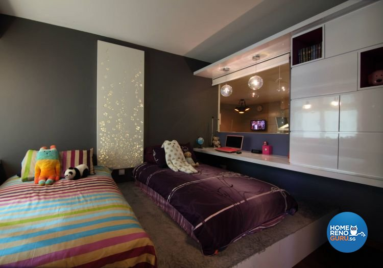 Contemporary, Minimalist, Modern Design - Bedroom - HDB 5 Room - Design by Euphoric Designs