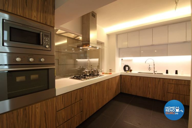 Contemporary, Minimalist, Modern Design - Kitchen - HDB 5 Room - Design by Euphoric Designs