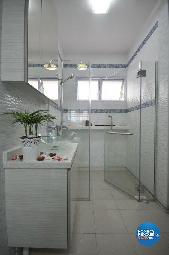 Contemporary, Scandinavian Design - Bathroom - HDB 5 Room - Design by Everlink Interior & Furnishing Pte Ltd