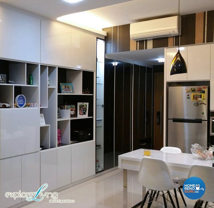 Contemporary, Modern Design - Dining Room - Condominium - Design by Explore Living Concept Pte Ltd