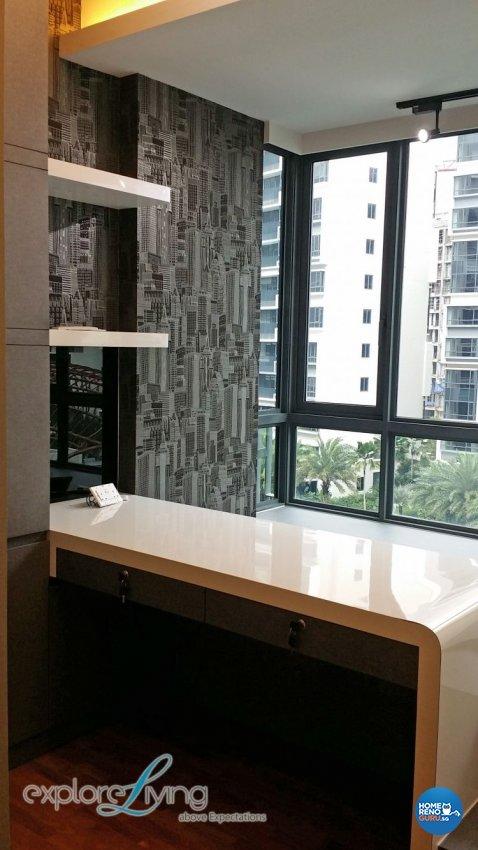 Contemporary, Modern Design - Bedroom - Condominium - Design by Explore Living Concept Pte Ltd