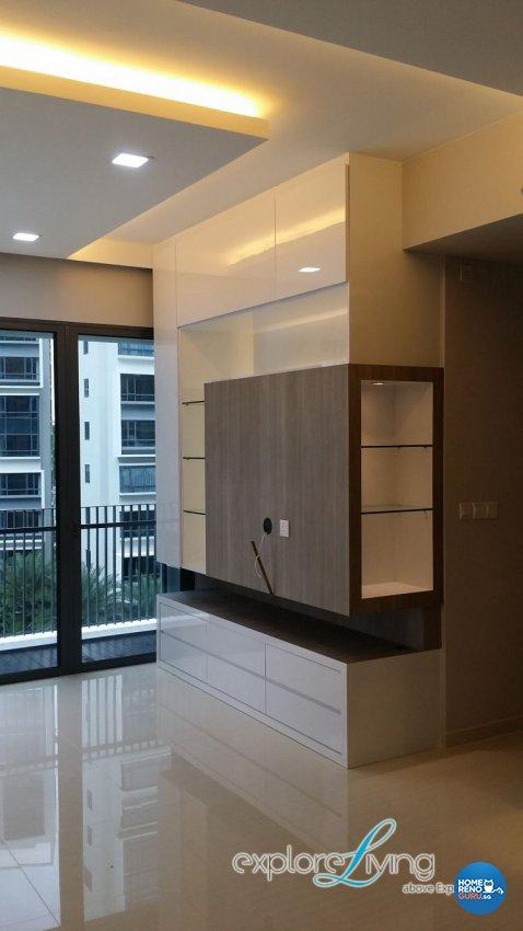 Contemporary, Modern Design - Living Room - Condominium - Design by Explore Living Concept Pte Ltd