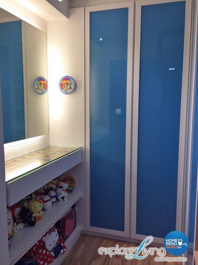 Scandinavian, Tropical Design - Bedroom - HDB 5 Room - Design by Explore Living Concept Pte Ltd