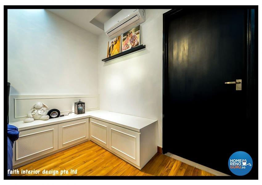 Classical Design - Bedroom - HDB 5 Room - Design by Faith Interior Design & Renovation