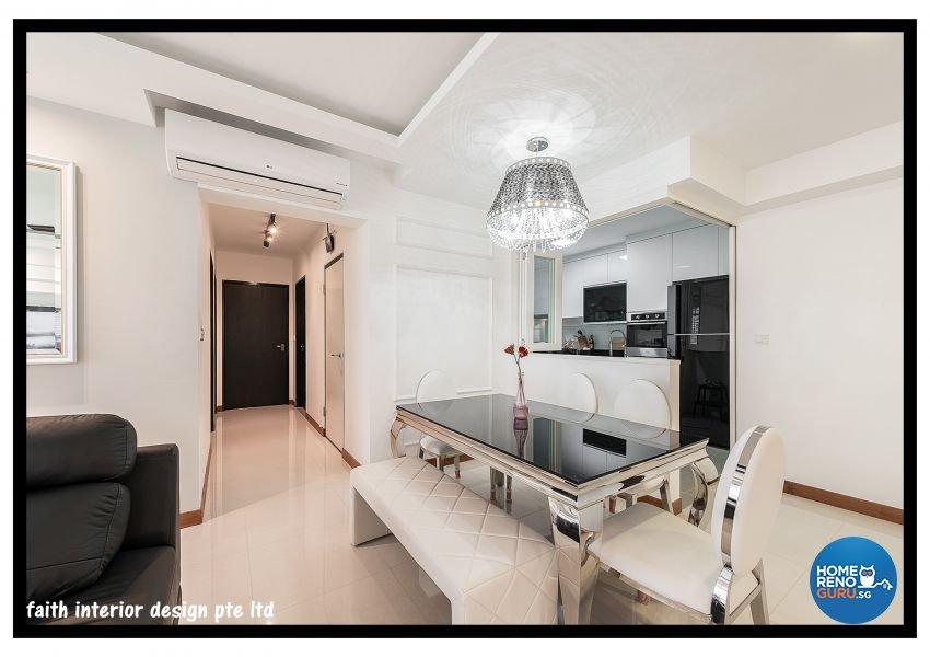 Classical Design - Dining Room - HDB 5 Room - Design by Faith Interior Design & Renovation