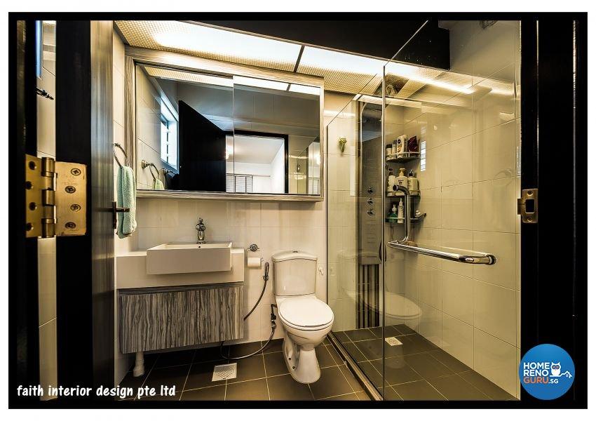 Classical Design - Bathroom - HDB 5 Room - Design by Faith Interior Design & Renovation