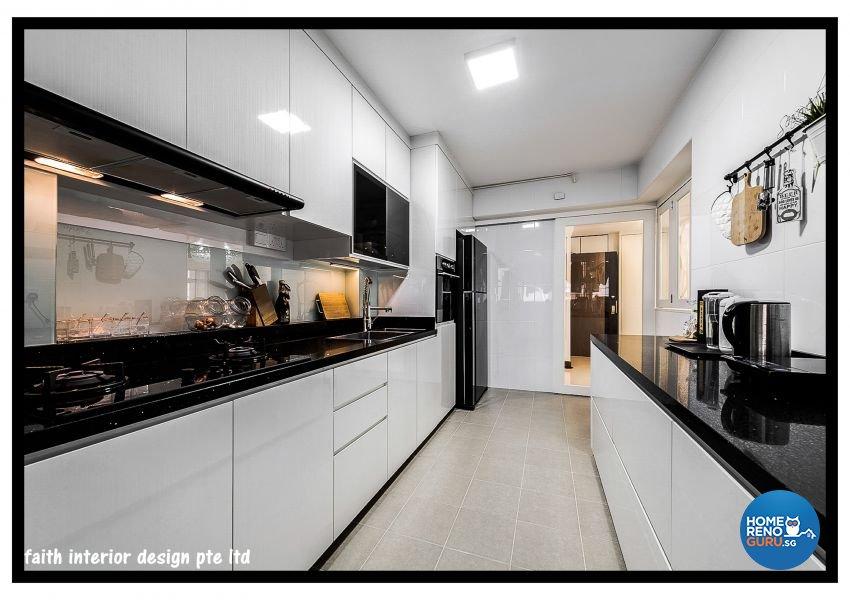 Classical Design - Kitchen - HDB 5 Room - Design by Faith Interior Design & Renovation