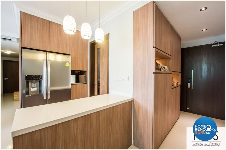 Modern Design - Kitchen - Condominium - Design by Fatema Design Studio