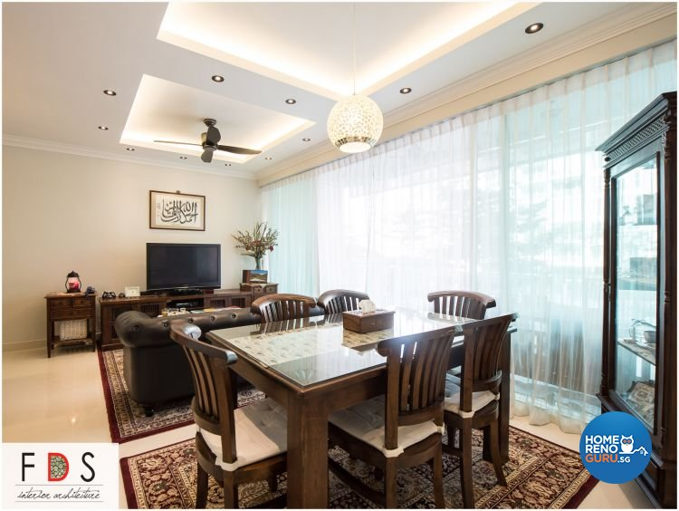 Modern Design - Dining Room - Condominium - Design by Fatema Design Studio
