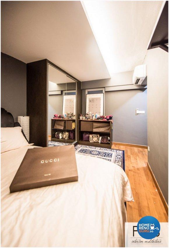 Modern Design - Bedroom - HDB 4 Room - Design by Fatema Design Studio