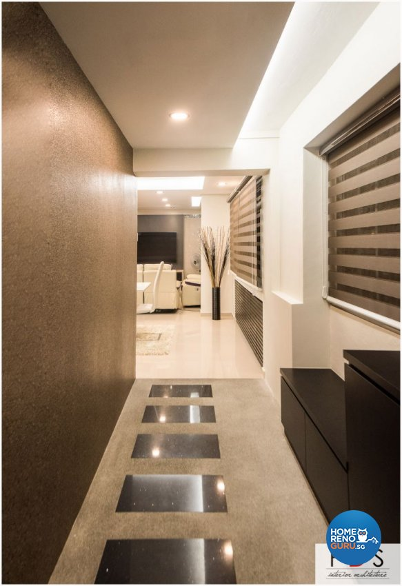 Modern Design - Balcony - HDB 5 Room - Design by Fatema Design Studio