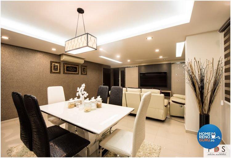 Modern Design - Dining Room - HDB 5 Room - Design by Fatema Design Studio