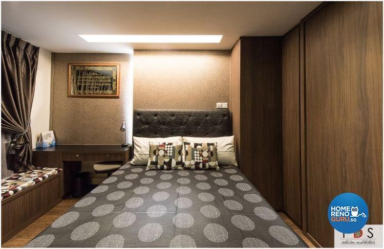 Modern Design - Bedroom - HDB 5 Room - Design by Fatema Design Studio