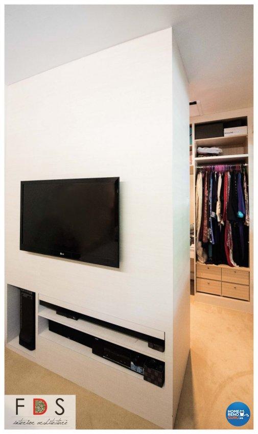 Modern Design - Bedroom - HDB Executive Apartment - Design by Fatema Design Studio