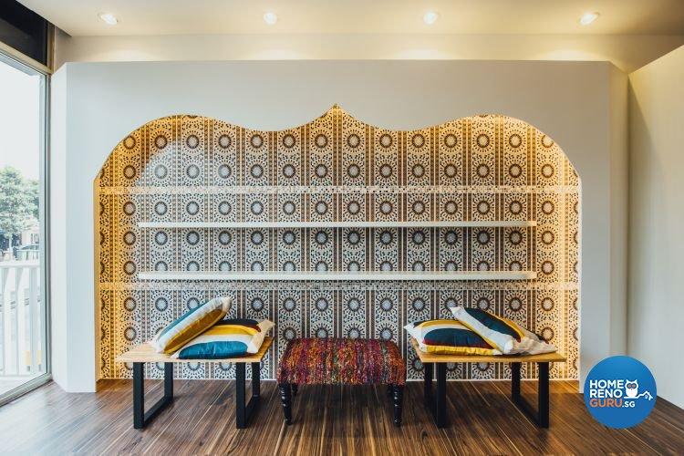 Eclectic Design - Living Room - Retail - Design by Fatema Design Studio