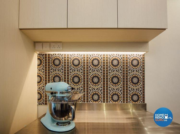 Eclectic Design - Kitchen - Retail - Design by Fatema Design Studio