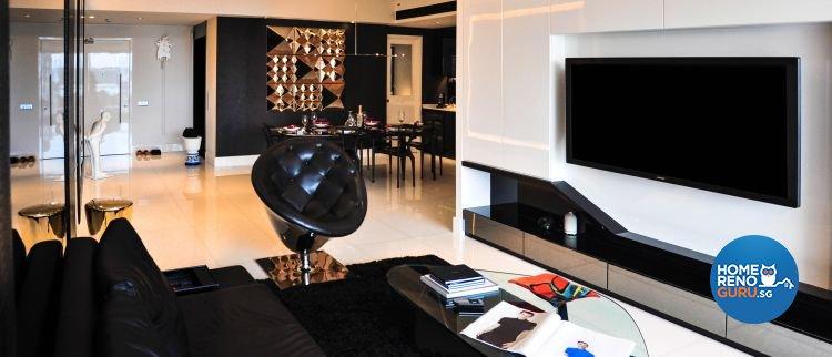 Contemporary, Modern Design - Living Room - Condominium - Design by Fide Living Pte Ltd