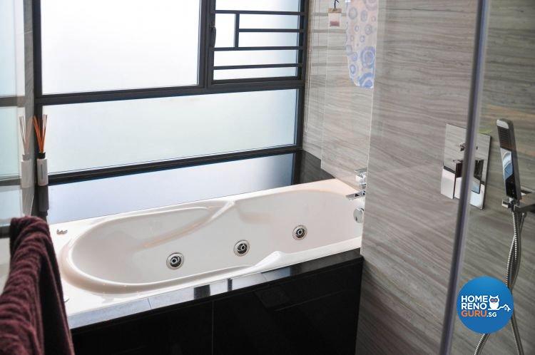 Contemporary, Modern Design - Bathroom - Condominium - Design by Fide Living Pte Ltd
