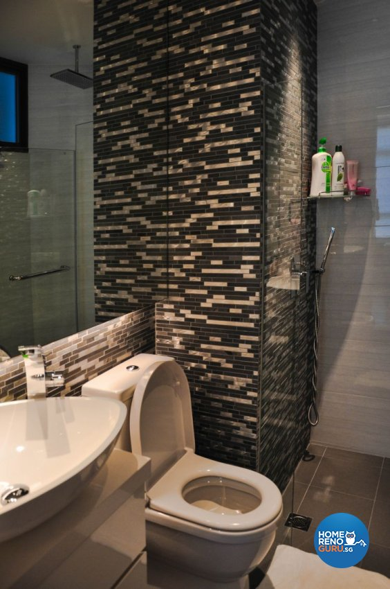 Contemporary, Modern Design - Bathroom - Condominium - Design by Fide Living Pte Ltd