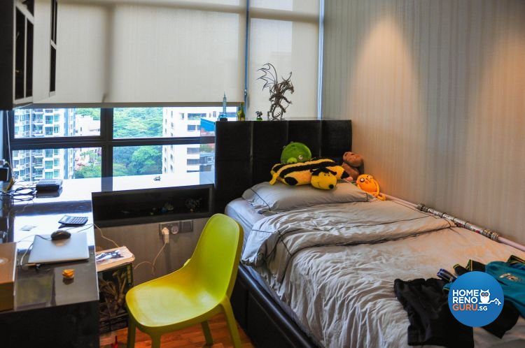 Contemporary, Modern Design - Bedroom - Condominium - Design by Fide Living Pte Ltd